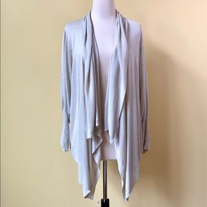 CAbi Drape Waterfall Open Cardigan #721